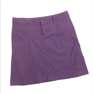 Athleta Purple A Line Skirt Size 8